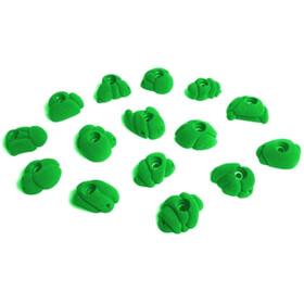 Fixe Meteorites Climbing Holds S 15 Pack, verde